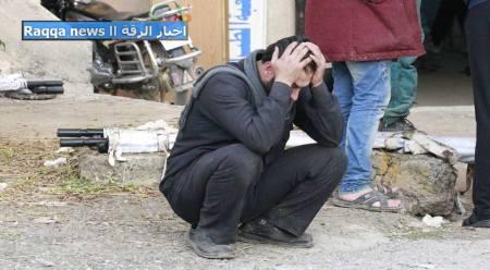 مجزرة الرقة ٢٥/١١/٢٠١٤ يوم لن يمحى من تاريخ المدينة التي ستتذكر الراحلون إلى الله